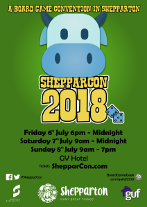ShepparCon 2018 Poster